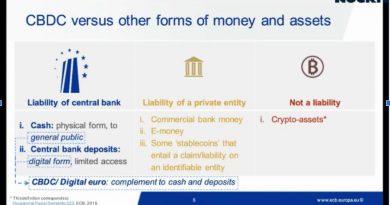 Los banqueros centrales europeos predicen que el euro digital llegará en al menos cinco años