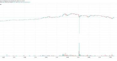 El precio de Bitcoin se desploma en Kraken después de un pico histórico