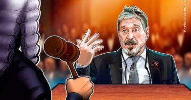 McAfee se enfrenta a cargos de fraude relacionados con las criptomonedas en un tribunal de Nueva York