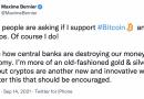 Un político canadiense dice que apoya a Bitcoin a puertas de las elecciones federales del país